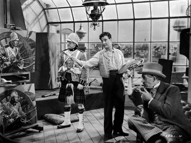 THE LIGHT THAT FAILED (La Lumière qui s'éteint, 1939)deWilliam A. Wellmanavec Ronald Colman, Walter Huston et Ida Lupino
