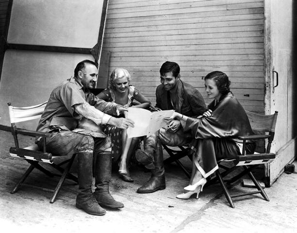 ON SET - RED DUST (La Belle de Saïgon) - Victor Fleming (1932)