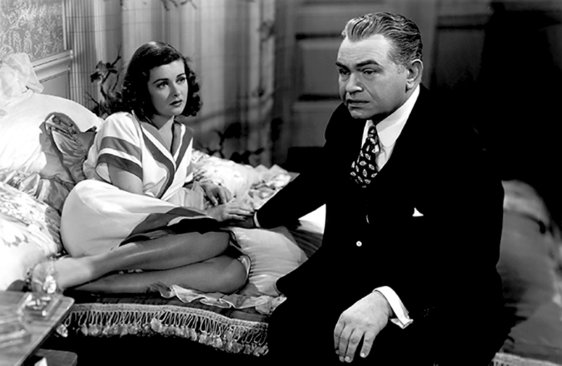 Scarlet Street (1945)Directed by Fritz Lang Shown from left: Jo