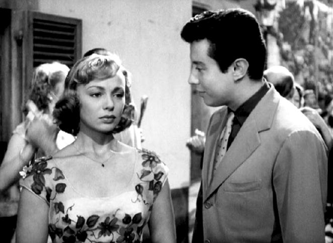 LA FETE A HENRIETTE deJulien Duvivier(1952) avec Dany Robin, Michel Auclair, Michel Roux, Henri Crémieux, Louis Seigner