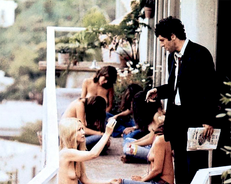 THE LONG GOODBYE (Le Privé) Robert Altman (1973) avec Elliott Gould, Nina van Pallandt, Sterling Hayden.