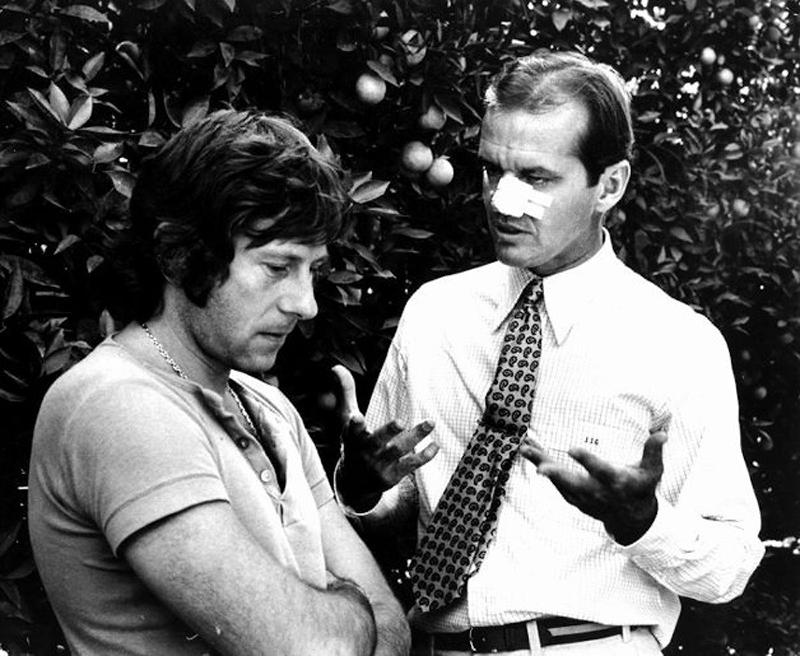 ON SET - CHINATOWN – Roman Polanski (1974)