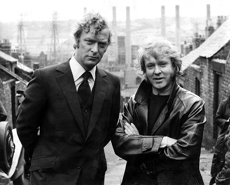 ON SET - GET CARTER (La Loi du milieu) – Michael Caine et Mike Hodges (1971) a