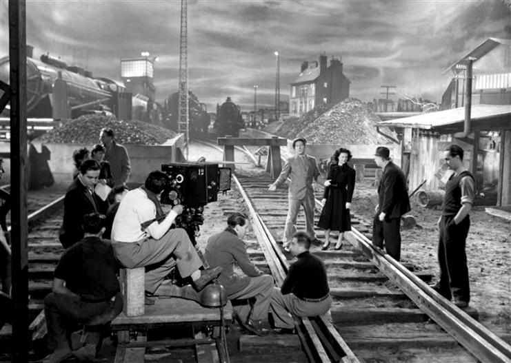 ON SET - LA BÊTE HUMAINE - Jean Renoir (1938)