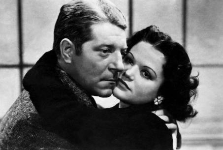 Jean Gabin et Simone Simon dan La Bête humaine (Julien Duvivier, 1938)