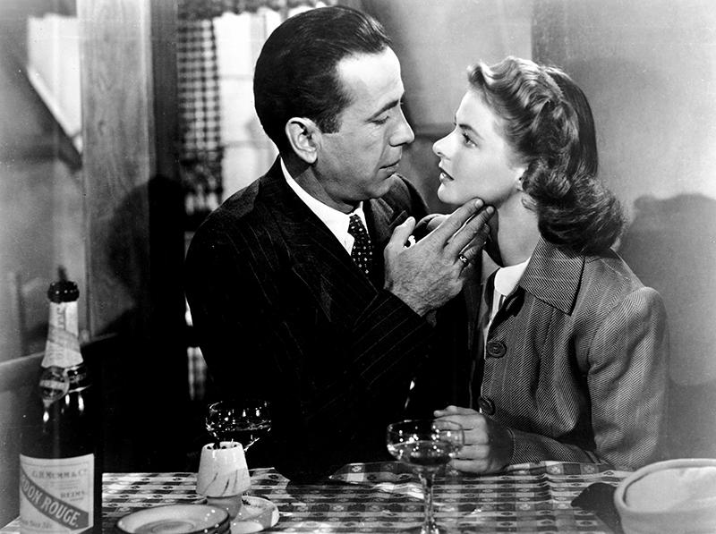 CASABLANCA est un film américain réalisé par Michael Curtiz, sorti en 1942 avec Humphrey Bogart, Ingrid Bergman, Paul Henreid, Claude Rains, Peter Lorre