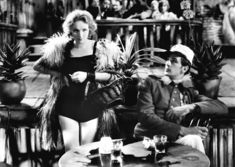 CŒURS BRÛLES (Morocco) de Josef von Sternberg (1930) avec Marlene Dietrich et Gary Cooper