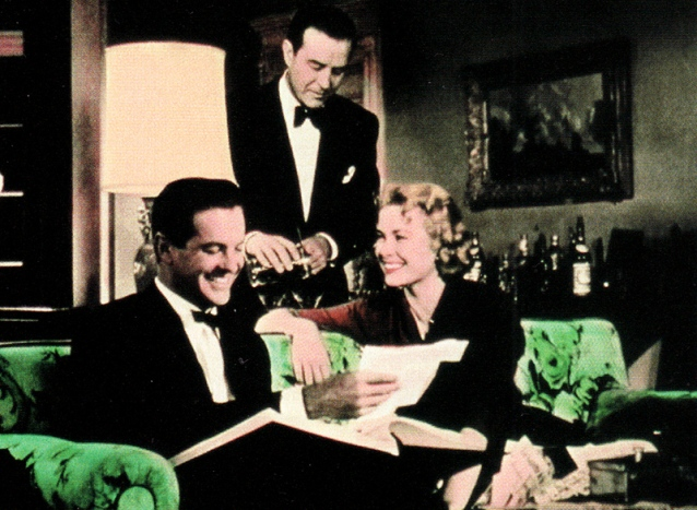 DIAL M FOR MURDER (Le crime était presque parfait) – Alfred Hitchcock (1954) avec Ray Milland, Grace Kelly, Robert Cummings, John Williams et Anthony Dawson