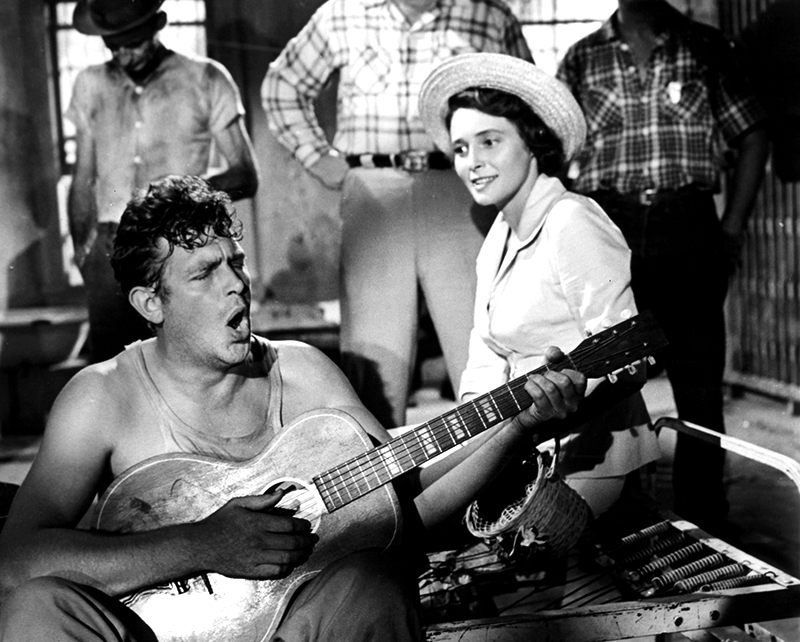 Andy Griffith And Patricia Neal In 'A Face In The Crowd' 1/1/1957