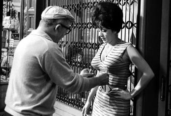 On set - IRMA LA DOUCE – Billy Wilder (1963)