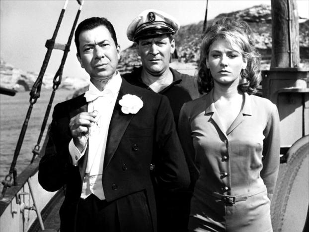 Le Monocle noir de Georges Lautner (1961) avec Paul Meurisse, Elga Andersen, Bernard Blier, Marie Dubois, Jacques Dufilho