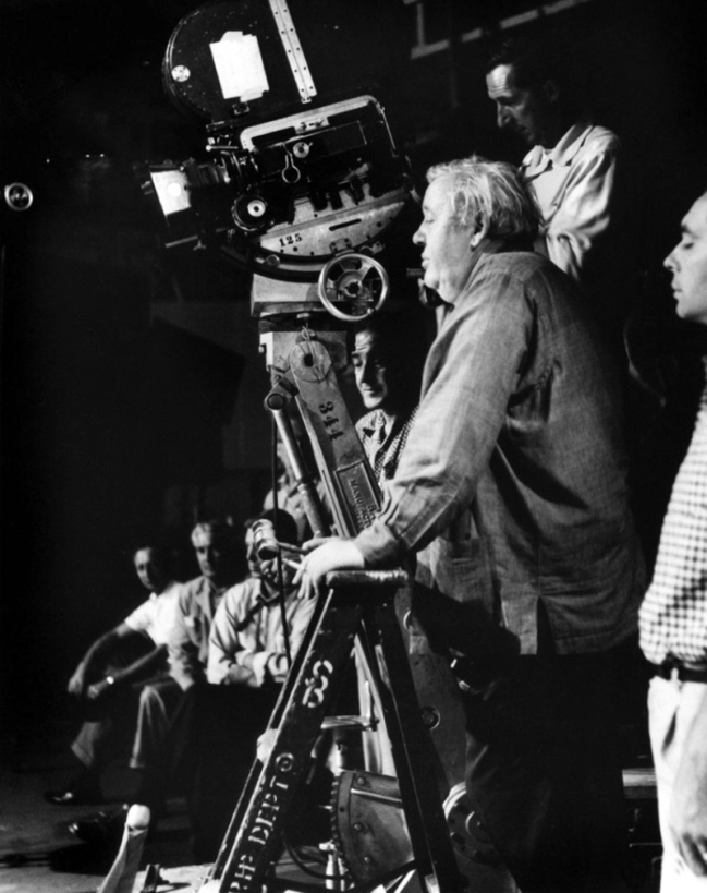 ON SET - THE NIGHT OF THE HUNTER – Charles Laughton (1955)