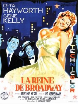 La reine de Broadway, affiche