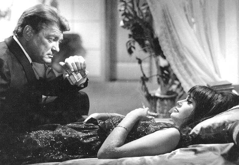 Train d'enfer de Gilles Grangier (1965) avec Jean Marais, Marisa Mell