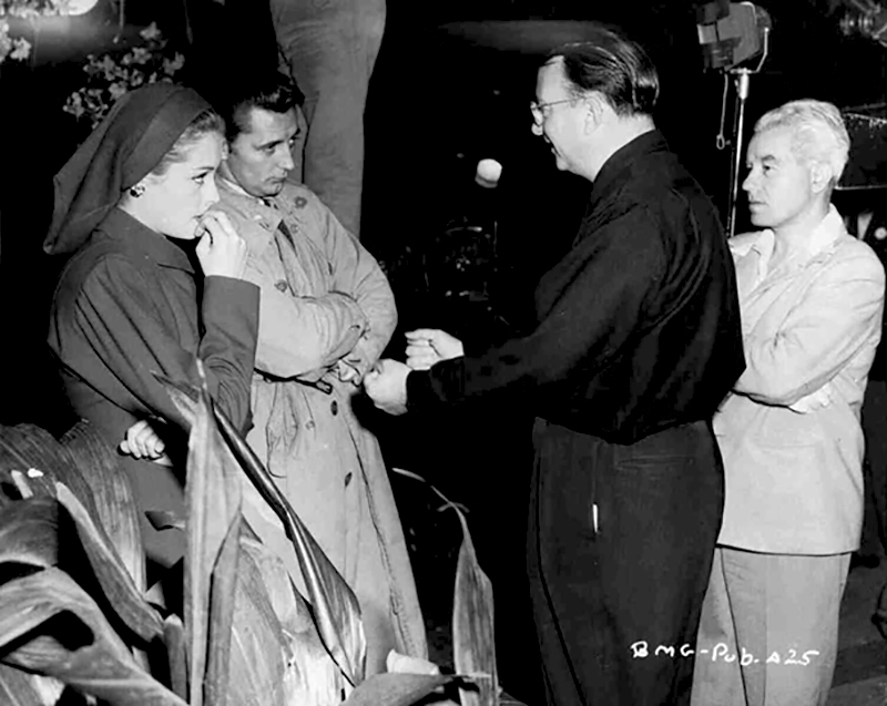 ON SET - OUT OF THE PAST (La Griffe du passé) - Jacques Tourneur (1947)