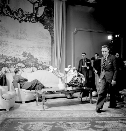 ON SET - LA RÈGLE DU JEU – Jean Renoir(1939) © Ministère de la Culture - Médiathèque du Patrimoine, Dist. RMN-Grand Palais / Sam Lévin