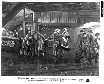 STORMY WEATHER (La Symphonie magique) - Andrew L. Stone (1943) avec Lena Horne, Bill Robinson, Cab Calloway, Katherine Dunham, Fats Waller, Fayard Nicholas, Harold Nicholas, Ada Brown, Dooley Wilson