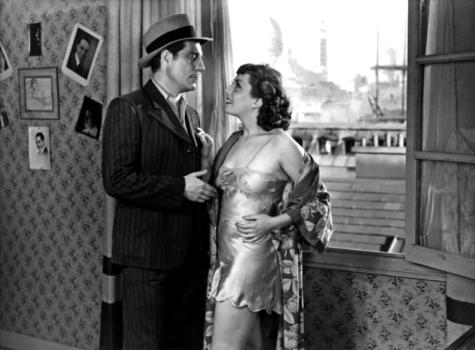 Jean Gabin et Viviane Romance dans La Belle équipe (Julien Duvivier, 1936)