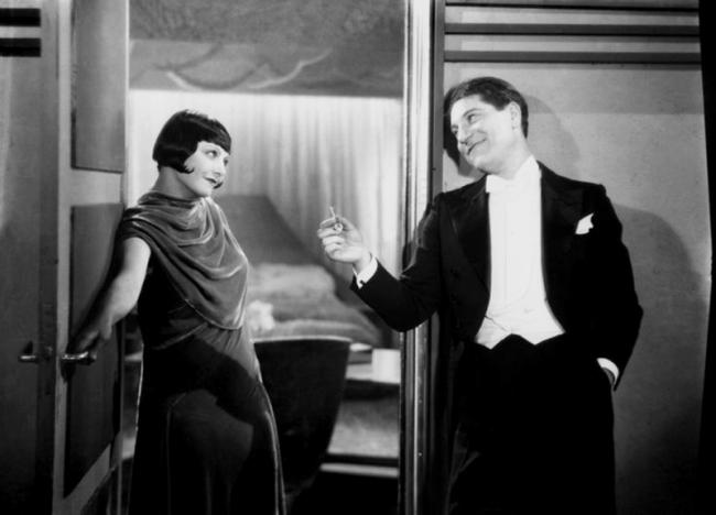 Gaby Basset et Jean Gabin dans Chacun sa chance (Hans Steinhoff, René Pujo, 1930)l
