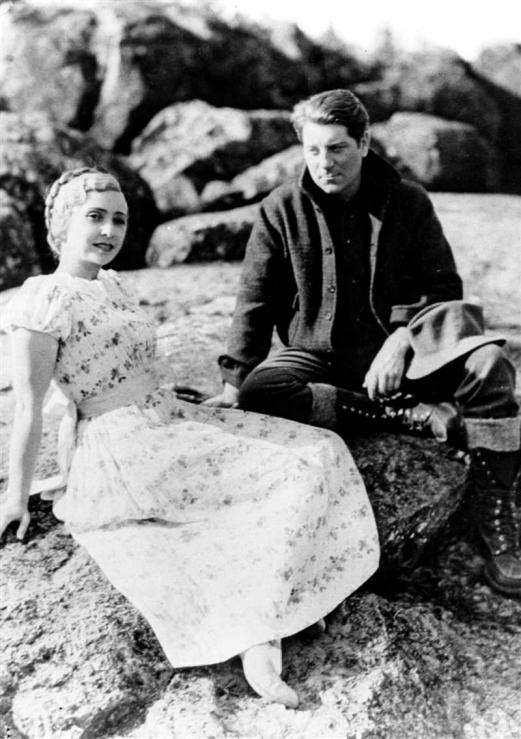 Madeleine Renaud et Jean Gabin dans Maria Chapdelaine (Julien Duvivier, 1934)