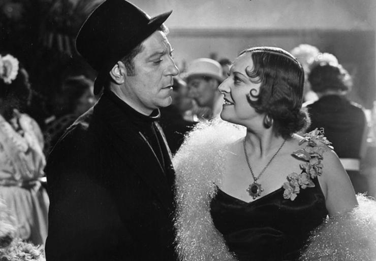 Jean Gabin et Gina Manès dans Le Récif de corail (Maurice Gleize, 1939)