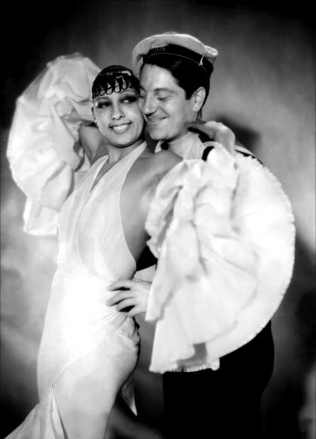 Josephine Baker et Jean Gabin dans Zouzou (Marc Allégret, 1934)