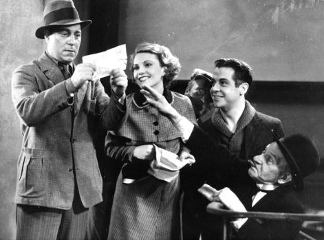 Jean Gabin dans Variétés (Nicolas Farkas, 1935)