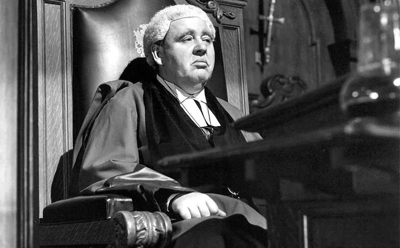 The Paradine Case (1947)Directed by Alfred Hitchcock Shown: Charles Laughton