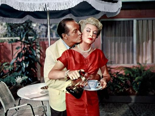 Bob Hope et Lana Turner dans BACHELOR IN PARADISE (L'Américaine et l'Amour) de Jack Arnold (1961)