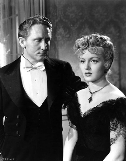 Spencer Tracy et Lana Turner dans Dr Jekyll and M.. Hyde, de Victor Fleming (1941)
