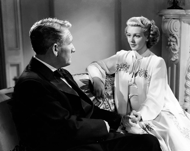 Spencer Tracy et Lana Turner dans Cass TIMBERLANE 5Éternel Tourment) de George Sidney (1947)