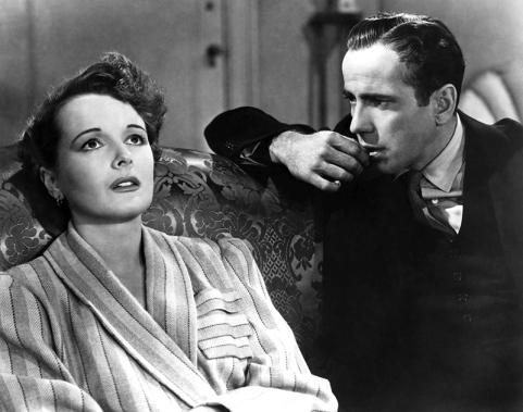 THE MALTESE FALCON (Le Faucon maltais) - John Huston (1941) avec Humphrey Bogart, Mary Astor, Peter Lorre, Sydney Greenstreet, Elisha Cook Jr., Lee Patrick,