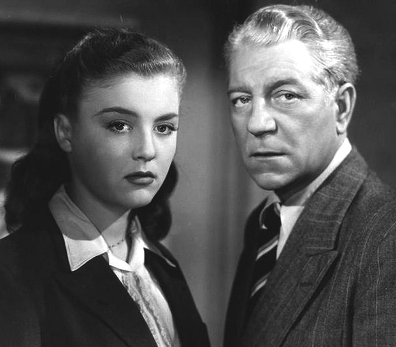 Jean Gabin et Nicole Courcel dans La Marie du port (Marcel Carné, 1950)