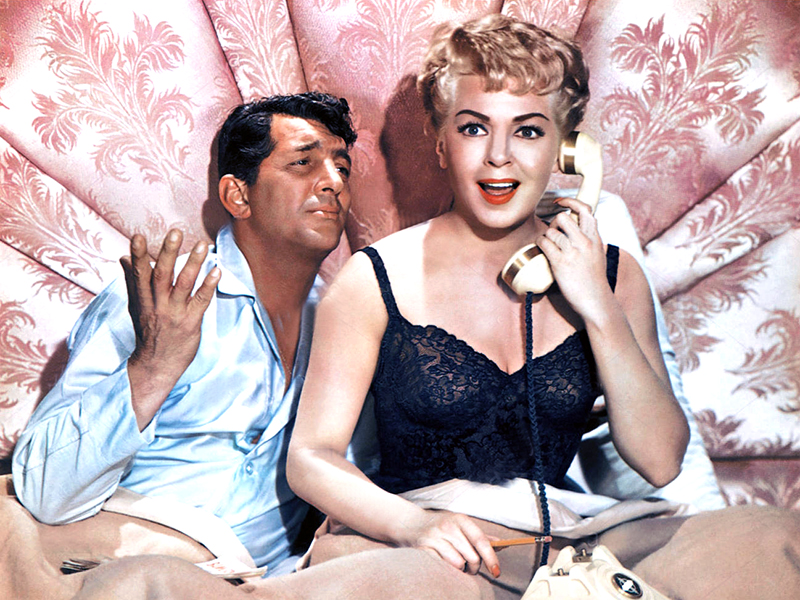 Dean Martin et Lana Turner dans WHO'S GOT THE ACTION? (L'Inconnu du gang des jeux) de Daniel Mann(1962)