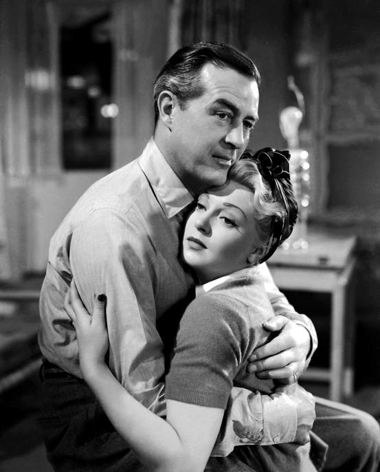 Ray Milland et Lana Turner dans A LIFE OF HER OWN(la vie à moi) de George Cukor(1950)