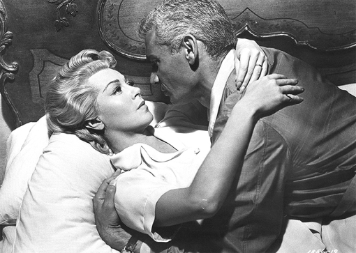Lana Turner et Jeff Chandler dans THE LADY TAKES A FLYER (Madame et son pilote) de Jack Arnold (1958)