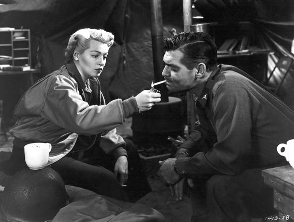 Lana Turner et Clark Gable dans Homecoming (Le Retour) de Mervyn LeRoy (1948)