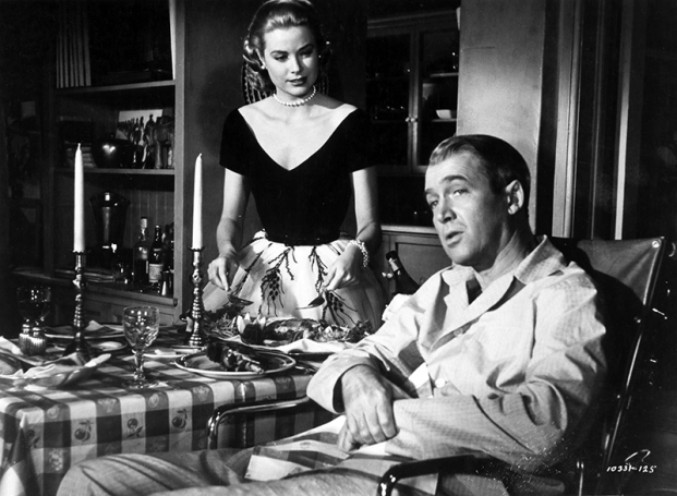 REAR WINDOW (Fenêtre sur cour) - Alfred Hitchcock - 1954 - James Stewart, Grace Kelly