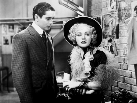 Tyrone Power et Alice Faye dans ALEXANDER'S RAGTIME BAND (La folle parade, 1938) musical réalisé par Henry King en1938. Production : Twentieth Century Fox