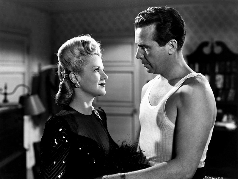 MURDER, MY SWEET (Adieu, ma belle) – Edward Dmytryk (1944) avec Dick Powell, Claire Trevor, Anne Shirley, Otto Kruger et Mike Mazurki
