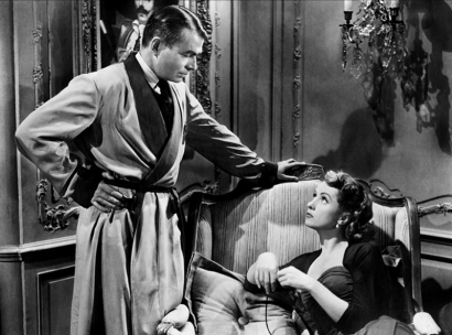 FIVE FINGERS (L'Affaire Cicéron) - Joseph L. Mankiewicz (1952) - James Mason et Danielle Darrieux
