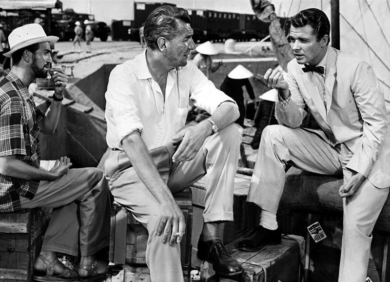 THE QUIET AMERICAN (Un Américain bien tranquille) Joseph L. Mankiewicz (1958) - Audie Murphy, Michael Redgrave, Claude Dauphin