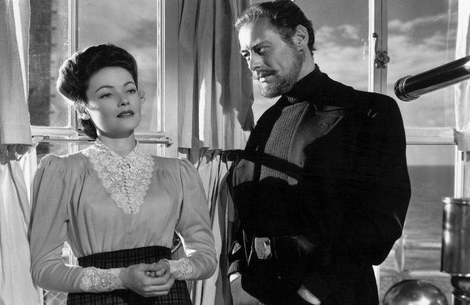 THE GOST AND Mrs. MUIR (L'Aventure de Mme Muir) - Joseph L. Mankiewicz (1947) - Gene Tierney, Rex Harrison, George Sanders