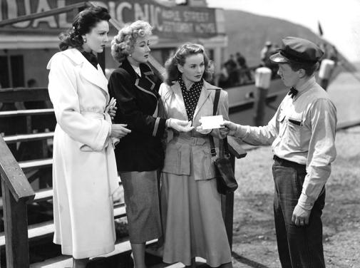 A LETTER TO THREE WIVES (Chaînes conjugales) -Joseph L. Mankiewicz (1949) - Jeanne Crain, Linda Darnell, Ann Sothern, Kirk Douglas