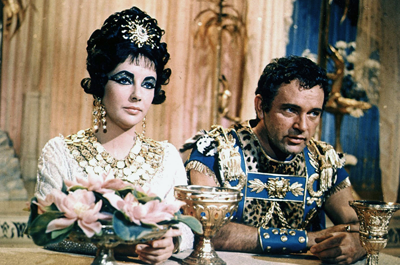 CLEOPATRA (Cléopâtre) - Joseph L. Mankiewicz (1963) - Elizabeth Taylor, Richard Burton, Rex Harrison