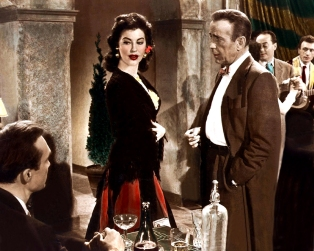 THE BAREFOOT CONTESSA (La Comtesse aux pieds nus) - Joseph L. Mankiewicz (1954) - Humphrey Bogart, Ava Gardner, Edmond O'Brien