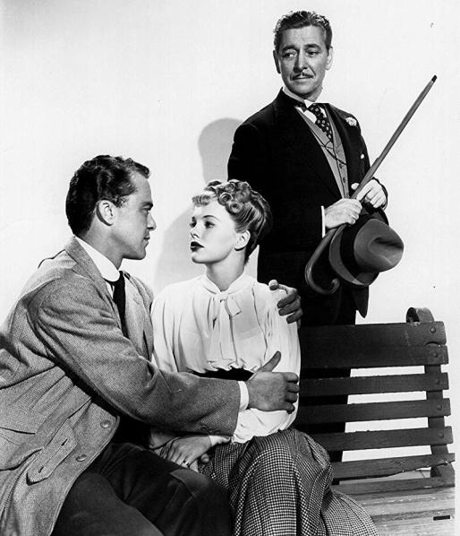 THE LATE GEORGE APLEY (Un mariage à Boston) -Joseph L. Mankiewicz (1947) - Ronald Colman, Peggy Cummins, Vanessa Brown