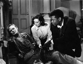 NO WAY OUT (La porte s'ouvre) Joseph L. Mankiewicz (1950) - Richard Widmark, Linda Darnell, Sidney Poitier