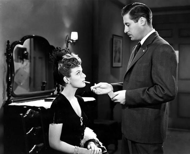 SOMEWHERE IN THE NIGNT (Quelque part dans la nuit) - Joseph L. Mankiewicz (1946) - John Hodiak, Nancy Guild, Lloyd Nolan