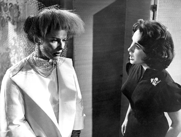 SUDDENLY LAST SUMMER (Soudain l'été dernier) - Joseph L. Mankiewicz (1959) d'après la pièce de Tennessee Williams - Elizabeth Taylor, Katharine Hepburn, Montgomery Clift